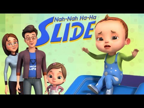Nah Nah Ha Ha - Slide Song | Baby Ronnie Rhymes | Nursery Rhymes & Kids Songs | 3D Rhymes