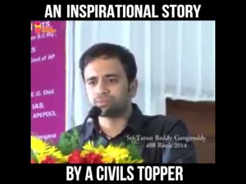 Inspirational story by civil topper