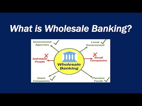What is Wholesale Banking?