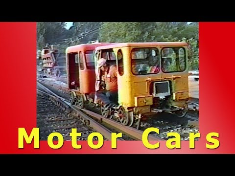 Motor Cars (Exciting Track Level Rail Hobby)