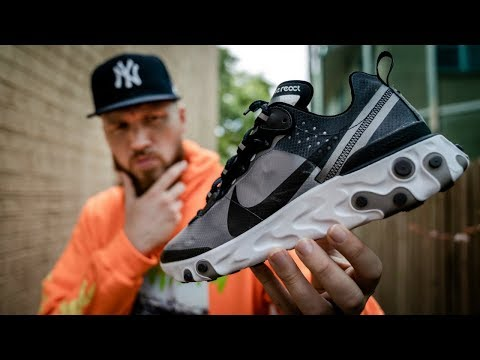 HOW GOOD IS THE NIKE REACT ELEMENT 87?! WORTH THE HYPE?!