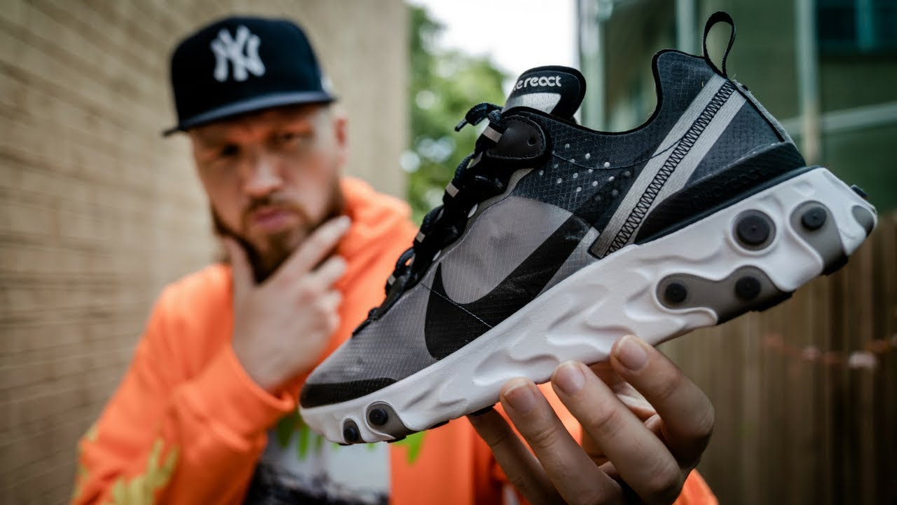 NIKE REACT ELEMENT 87?! WORTH THE HYPE