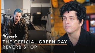 Green Day's Billie Joe Armstrong, Tre Cool, and Mike Dirnt have ama...