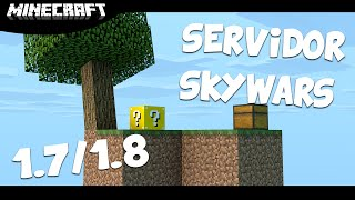 Servidor de SkyWars - LuckyBlock / Pirata & Original [1.7/1.8]