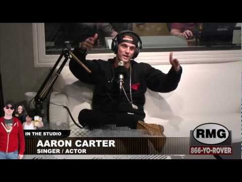 Aaron Carter - Complete Interview - Rover's Morning Glory