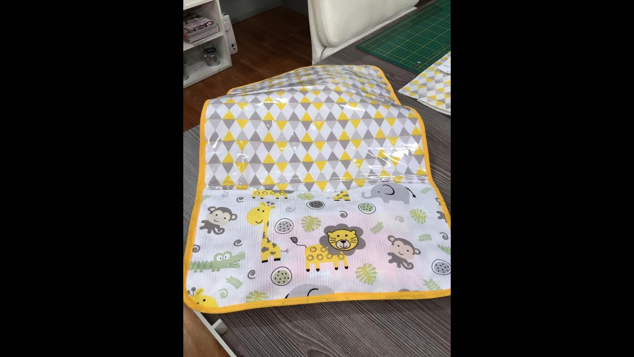 Cambiador de beb forrado 16 06 16 1a parte youtube - Cambiador bebe patchwork ...