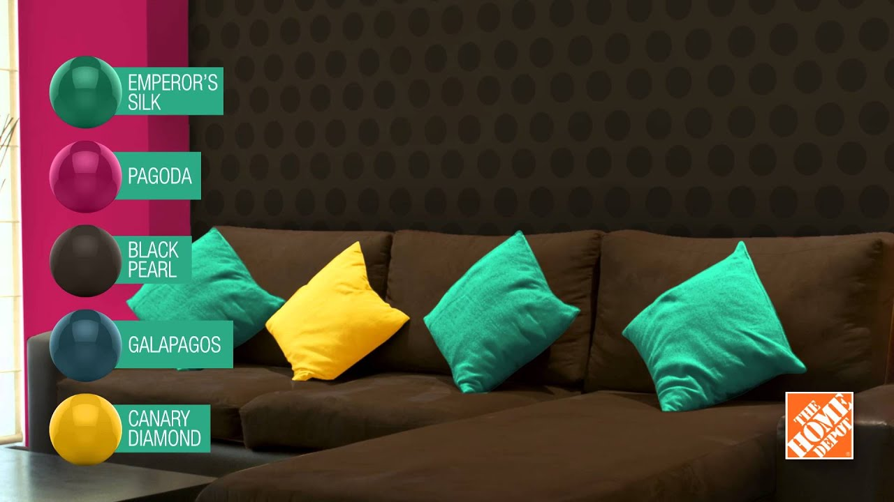 Living Room The Home De behr tendencias de color con the home depot youtube depot