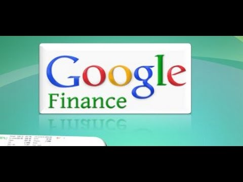 How to use Google finance for Technical analysis with live data examples