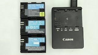 Different type of Canon LP-E6 Batteries