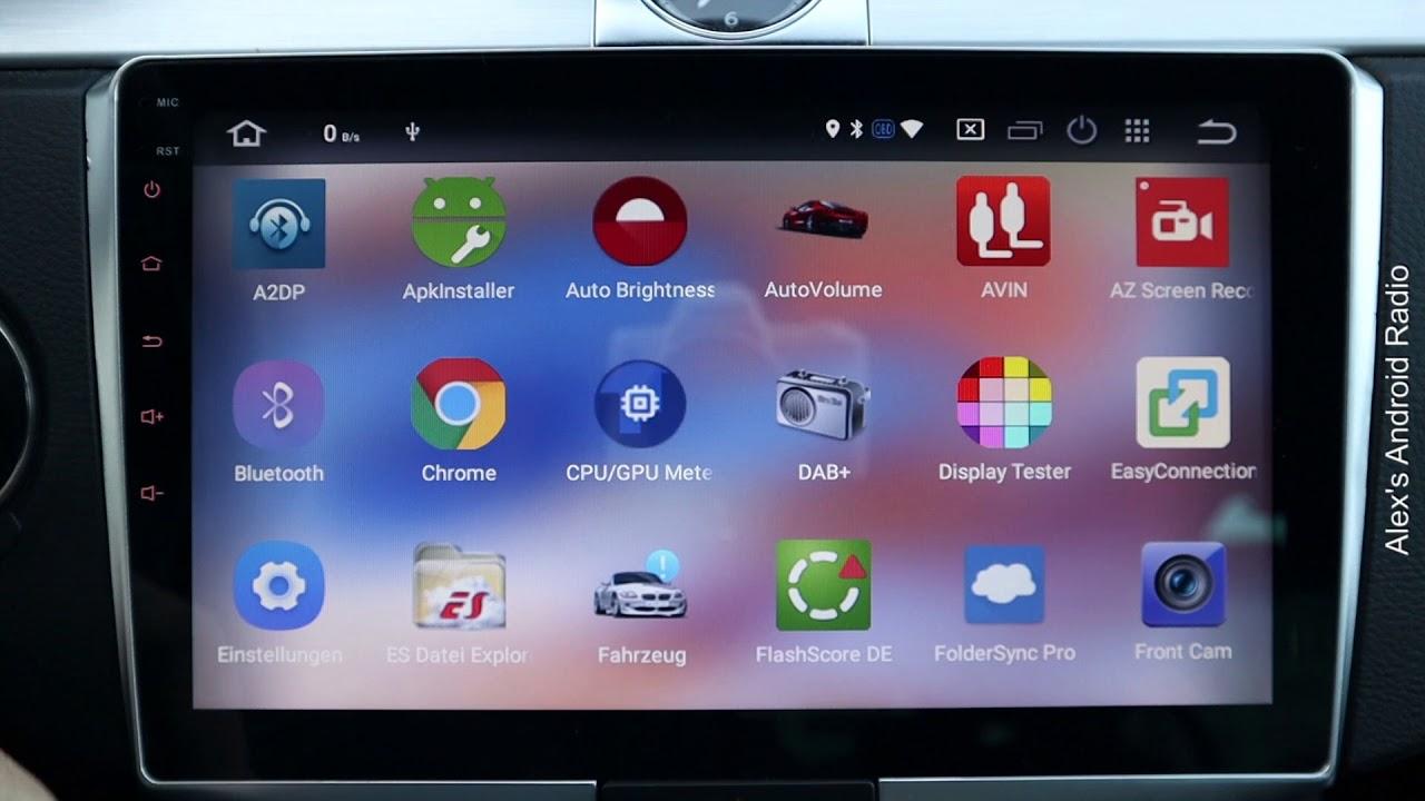 Android Radio besserer Sound durch MCU Update