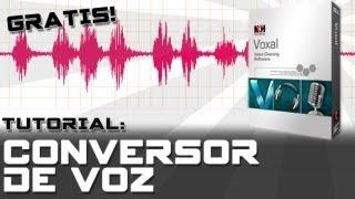 Tutorial Voxal Voice Changer - Lo mejor en conversores de voz GRATIS!