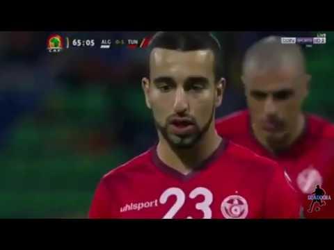 أهداف مباراة المنتخب الوطني الجزائري 1 - 2  تونس من كأس أمم إفريقيا 2017 بالغابون