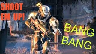 Destiny shoot em up, BANG BANG pvp crucible online gameplay