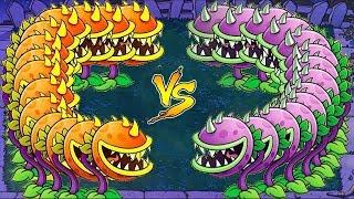 Plants vs Zombies Hack - Chomper Zomboss vs Gargantuar