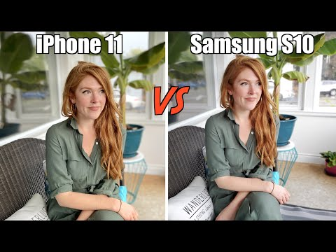 IPhone 11 VS Samsung Galaxy S10 Camera Comparison!