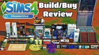 The Sims 4 StrangerVille | Build and Buy Objects Review | Early Access thumbnail