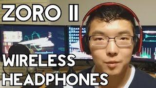 noontec zoro ii wireless bluetooth 4 1 headphones unboxing and review