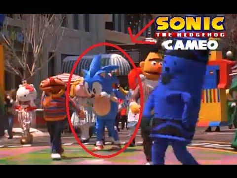 Jingle All The Way Sonic Cameo YouTube