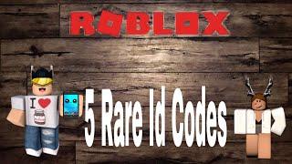 Rare Roblox ID Codes