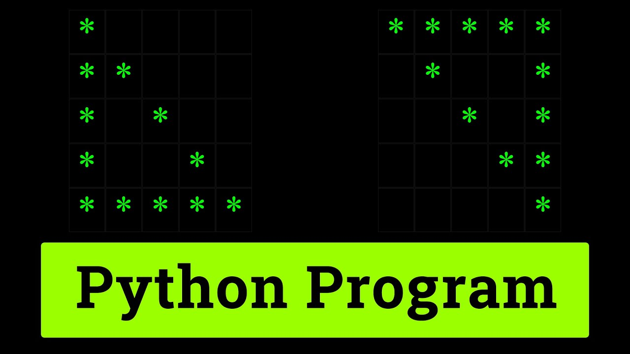 Python Pattern Programs | Printing Stars in Hollow Right Triangle Shape | Tutorial for Beginners