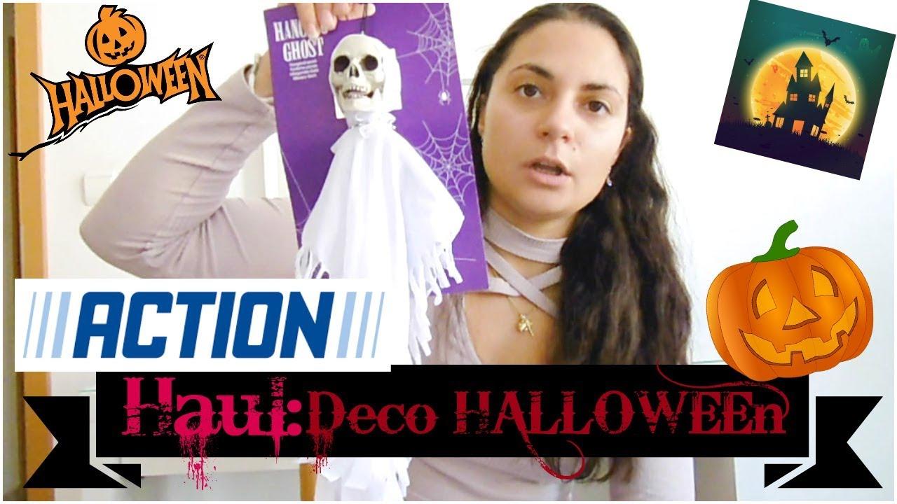 Decoration Halloween Magasin.N 73 Haul Deco D Halloween De Chez Action Youtube