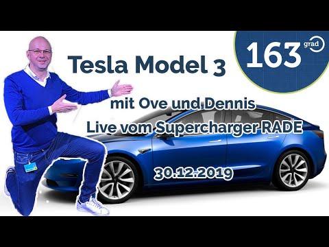 Tesla Model 3 Abholung - Live Mit Ove Kröger, Dennis Witthus, Nico Pliquett Vom Supercharger Rade