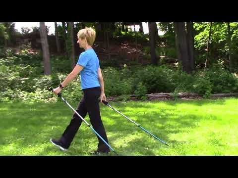 How to Nordic Walk with Urban Poles