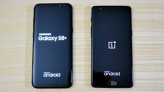 Galaxy S8 vs OnePlus 3T - Speed Test! (4K)