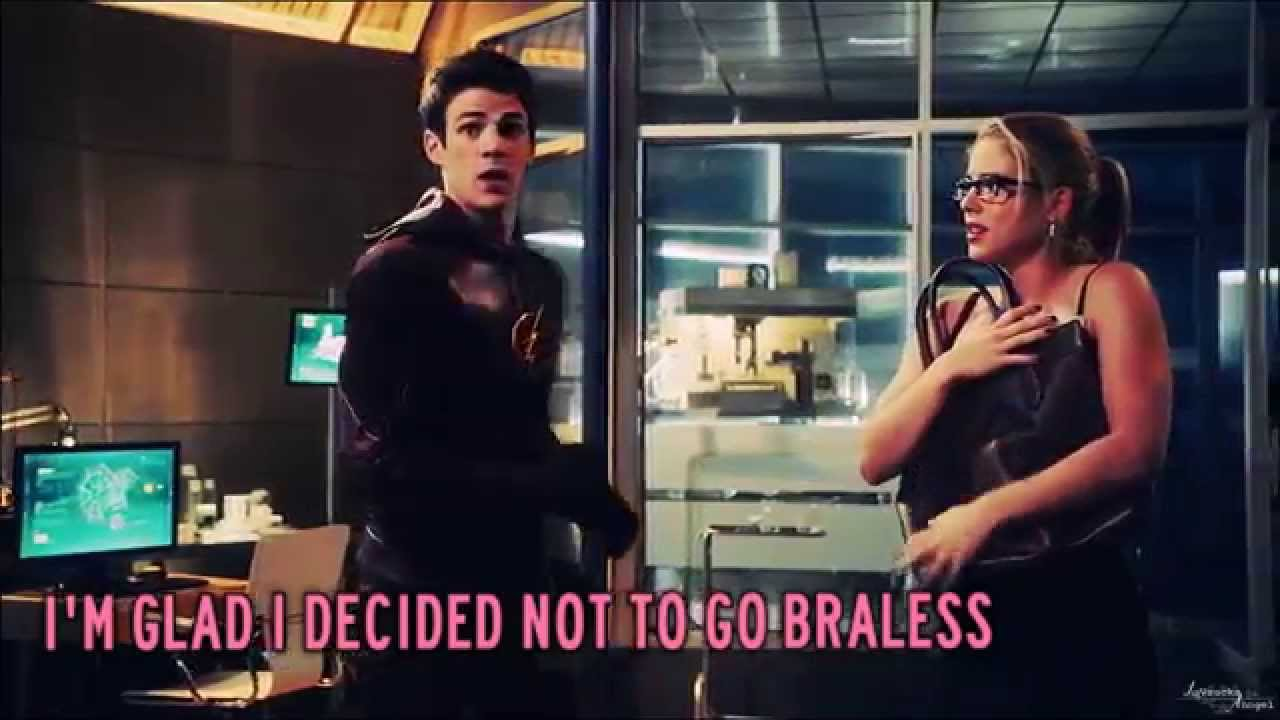 Download The Flash vs Arrow My shirt's on fire! [HUMOR]