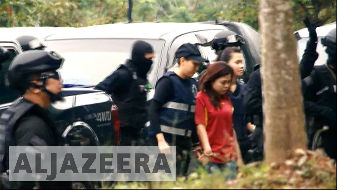 Women charged with killing North Korean leader's brother