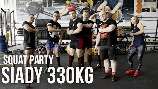 TEAM KOTA - SIADY 330KG - SQUAT PARTY