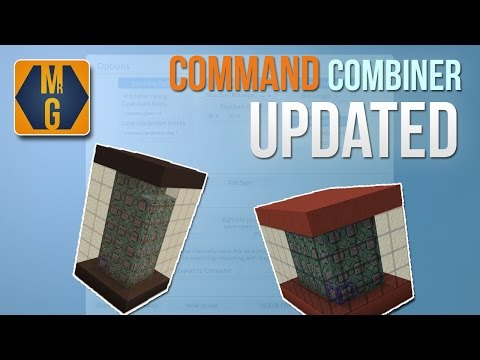 Minecraft - 1.9 and 1.10 Command Combiner