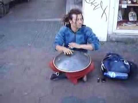 Music from heaven (Hang Drum in Amsterdam)