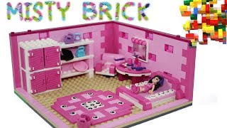 Lego Friends Pink Child Room by Misty Brick.