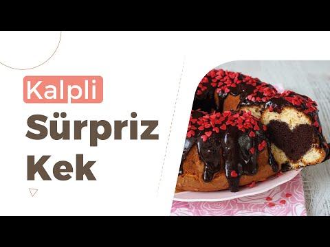 Kalpli Sürpriz Kek I Kenton'la Yaparım Gururla Sunarım