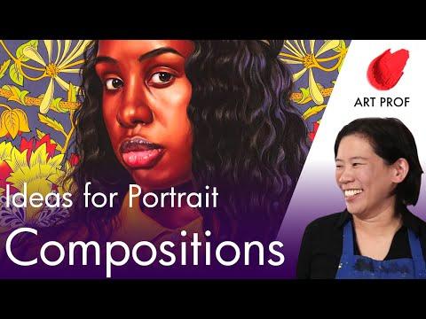 Art Professor Shows How To Compose A Portrait