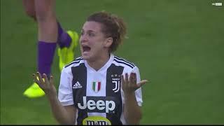 JUVENTUS 1-0 FIORENTINA FEMMINILE  GOL E HIGHLIGHTS SKY IN ITALIANO 2019.03.24.