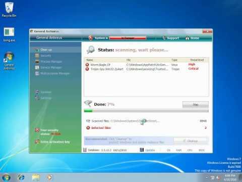 Windows 7 Getting Viruses