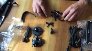 Unboxing und Zusammenbau des TomTom Rider 400 Motorrad Navigation-G...