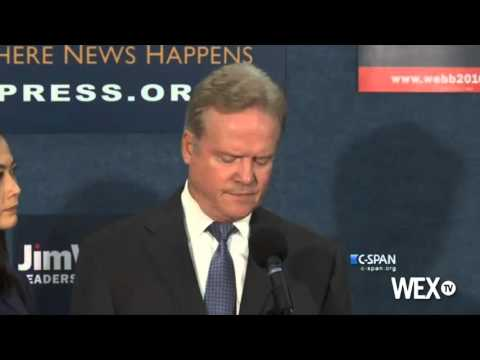 Jim Webb drops out of Democratic race for president