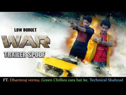 War Trailer Spoof | Hrithik Roshan | Tiger Shroff | 4k UHD | Ft.GREEN CHILLIES, Dharmraj Verma Vines