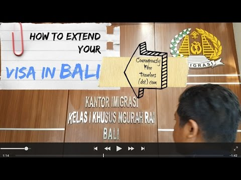 How to Extend Your Visa in Bali - Courageously Free Travelers