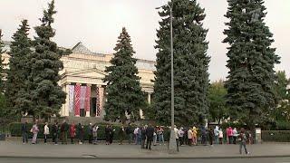 В Пушкинском музее завершает работу грандиозная выставка картин из собрания коллекционера Щукина.