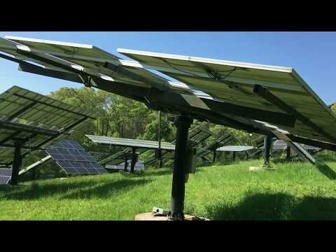 Solar Trackers Gone Wild!  Solar Disarray