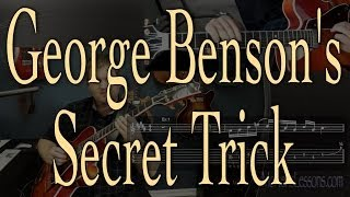 George Benson Secret: Create jazzy altered feel with just regular scales and arpeggios