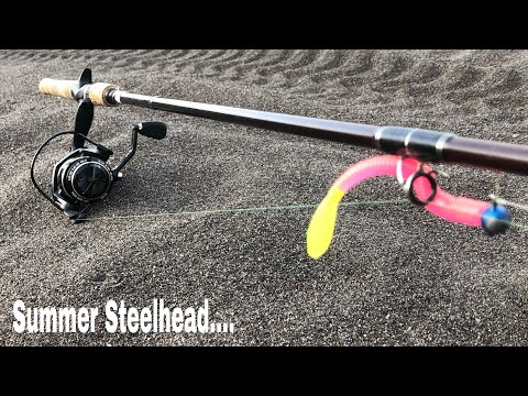 Bank Fishing Basics! Summer Steelhead Are In! Here Are Some Tips To Help You Land More Fish