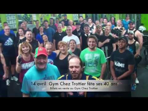 Gros party pour les 40 ans du Gym Chez Trottier