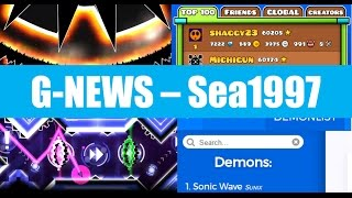 [G-NEWS] NEW GD WORLD #1, New Demons List, God Eater & SubSonic Previews, Funnygame Quits?