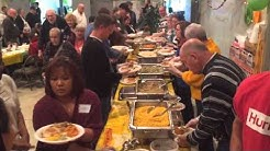 Thanksgiving Meal At St. Luke's Parish Hall