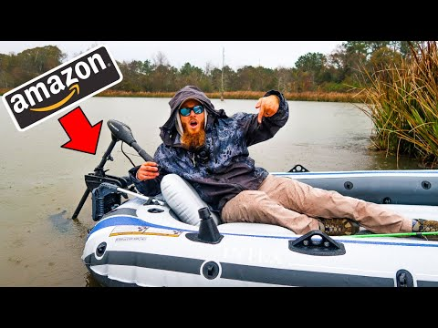 Building A Fishing Boat From AMAZON (Surprising!)